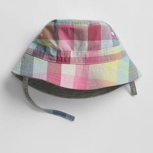 NWT 《GAP》 18-24 Months REVERSIBLE Bucket Hat